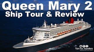 Cunard Queen Mary 2 Video Tour Made on Winter Transatlantic Crossing