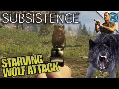 STARVING WOLF ATTACK | Subsistence | Let's Play Gameplay | S06E02