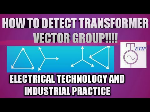 Transformer vector group determination|Electrical engineering|Electrical  technology