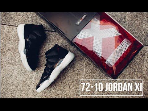 """f1d15fd16c66 Air Jordan 11 Retro """"72-10″ Review"""