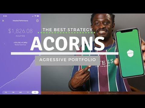 Acorns - $1,826 of $100k Strategy to make money fast!