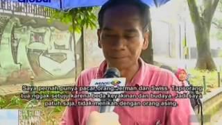 Penjual cincau berbahasa Inggris