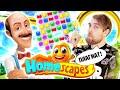Homescapes - ПЛАГИАТ У хроник ХАОСА и рекламный РАЗВОД на мобильные ИГРЫ головоломки видео
