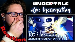 [Undertale] RE:Incarnation - Animation REACTION! | WHAT DID YOU DO, GASTER?! | thumbnail