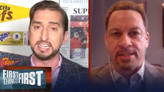 Chris Broussard shares his thoughts on final episodes of 'The Last Dance'   NBA   FIRST THINGS FIRST