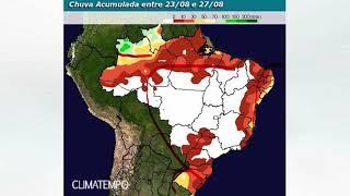 Brasil volta a secar