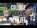 college week in my life | homework, workouts, new coffee shop | emilyOandbows
