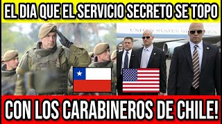 Carabineros Chilenos Encaran a Servicio Secreto de Bush 🔴#Chile #Valparaiso #ViñaDelMar #BioBio