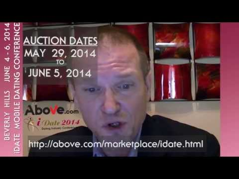 iDate Domain Auction with Above com on May 29 to June 5, 2014