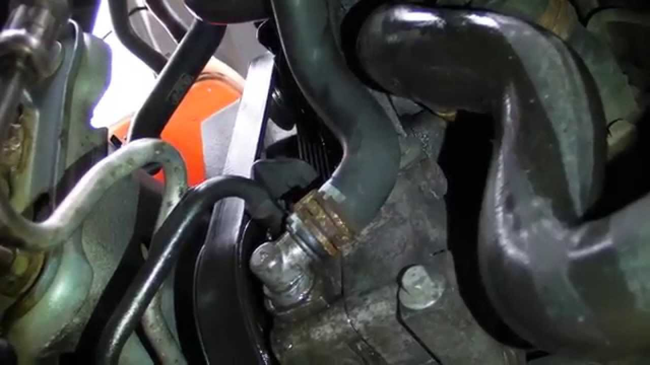 2000 Ford Focus Thermostat Diagram John Deere 210 Wiring Mk2 Power Steering Pump - Youtube