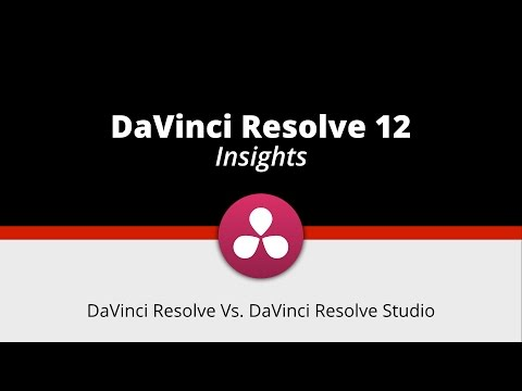 DaVinci Resolve Vs DaVinci Resolve Studio