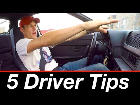 Top 5 everyday driving tips from a racing driver