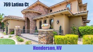 769 Latina Ct, Henderson, NV 89012