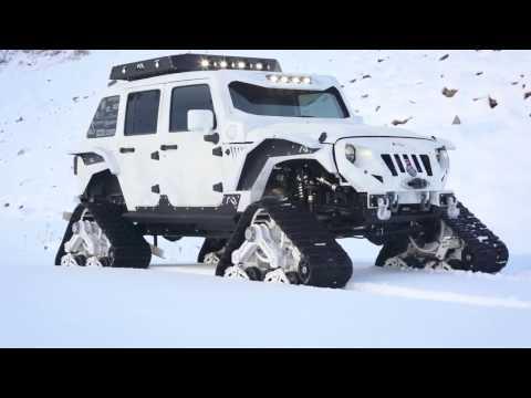 Arctic Frog Jeep in Durango, Colorado - Chris Kyle Frog Foundation