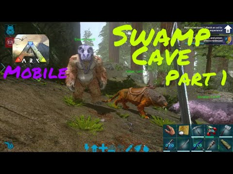 Ark mobile swamp cave location
