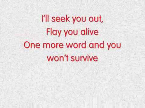 Blue Foundation - Eyes on Fire (lyrics)
