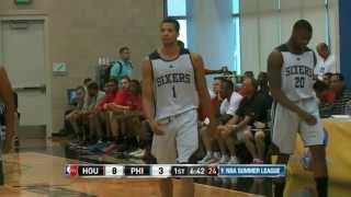 Houston Rockets vs Philadelphia 76ers Summer League Recap