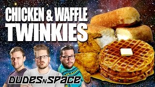 Chicken and Waffle Twinkies - Will it Twinkie - Dudes N Space