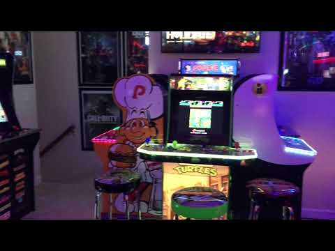 TOUR OF MY ARCADE1UP ROOM from GameMom77