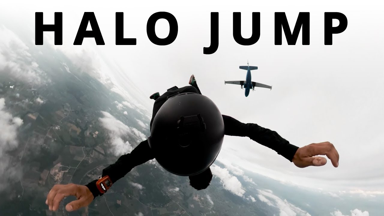 HALO Freefall Jumping • With the Lithuanian Special Forces • (Master)