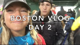 BOSTON VLOG DAY 2- Fenway Park, Marathon, &more!
