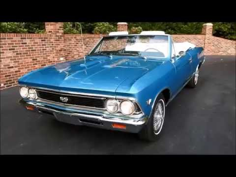 1966 Chevelle SS Convertible, marina blue, for sale Old ...