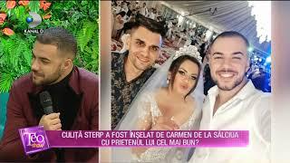 Teo Show (16.01.) - Culita Sterp a fost inselat de Carmen de la Salciua cu prietenul cel m ...