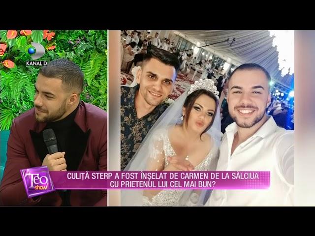 Teo Show (16.01.) - Culita Sterp a fost inselat de Carmen de la Salciua cu prietenul cel mai bun?