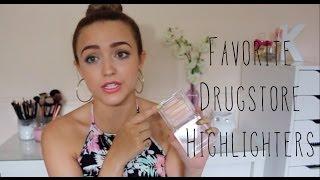 My TOP 5 Favorite Drugstore Highlighters!