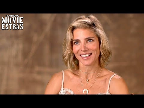 "12 Strong | On-set visit with Elsa Pataky ""Jean Nelson"""