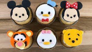 How To Make Disney Tsum Tsum Cupcakes (5 Mins)| Irma's Fondant Cakes