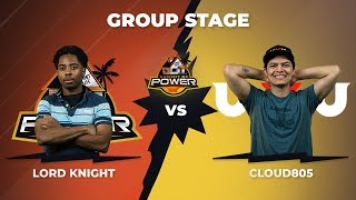 Lord Knight vs Cloud805 - Group Stage: Pool A - Summit of Power