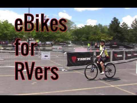 eBikes for RVers
