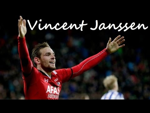 Vincent Janssen ►All Goals ● 15-16 ● AZ Alkmaar ● ᴴᴰ