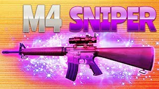 M4 SNIPER (Fortnite Battle Royale) | rhinoCRUNCH