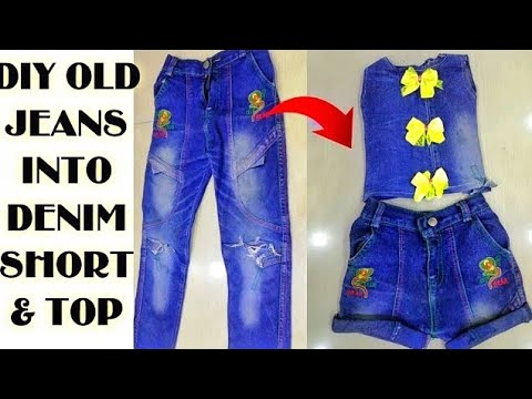 convert/recycle/reuse-old-mens-jeans-into-two-piece-denim-shorts-&-top/old-mens-jeans-reuse|