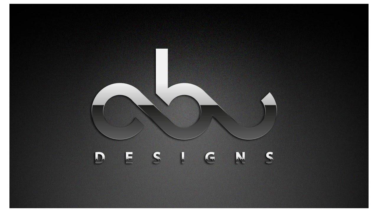 logo design tutorial metallic text effect graphic styles illustrator