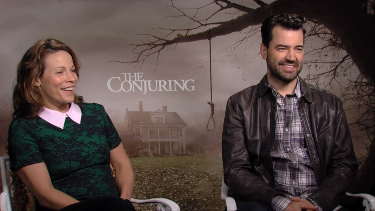 Lili Taylor & Ron Livingston - The Conjuring Interview HD ...
