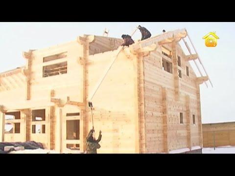 видео: Стропильная система деревянного дома // forumhouse