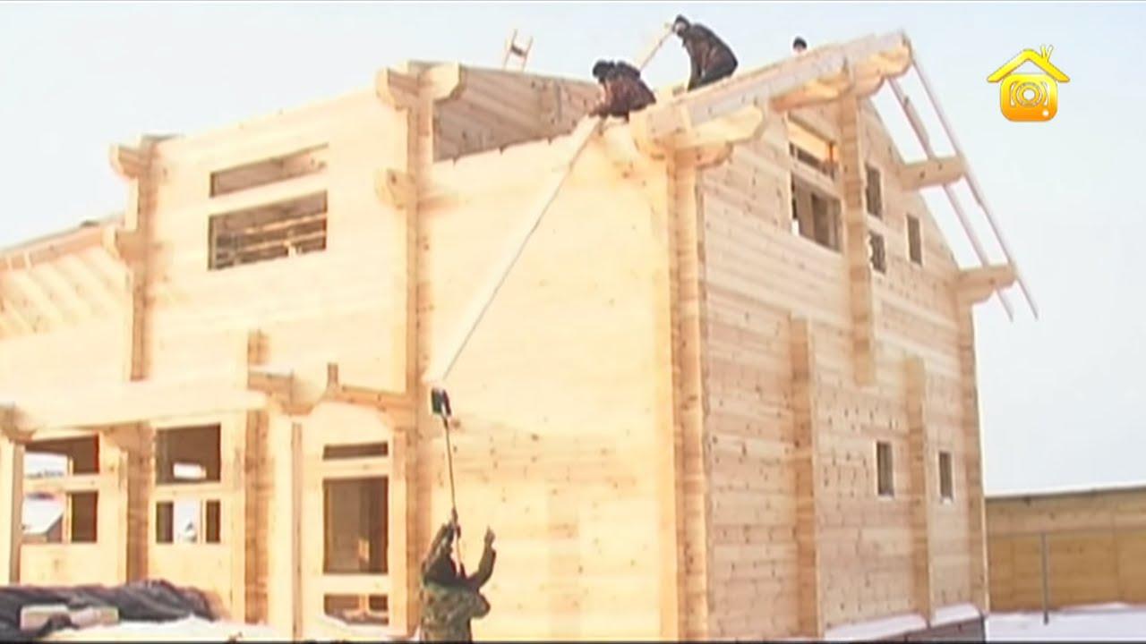 Стропильная система деревянного дома // FORUMHOUSE