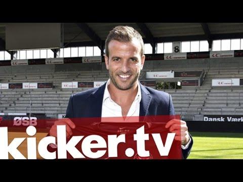 Rafael Van der Vaart ist da - Aufregung bei Midtjylland - kicker.tv