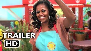 WAFFLES + MOCHI Trailer (2021) Michelle Obama, Zach Galifianakis, Sia New Series