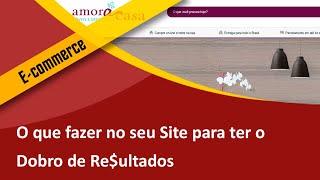 O que fazer no Seu Site p/ Ter o Dobro de Re$ultados - Criação de E-commerce em SBS Samuca Webdesign