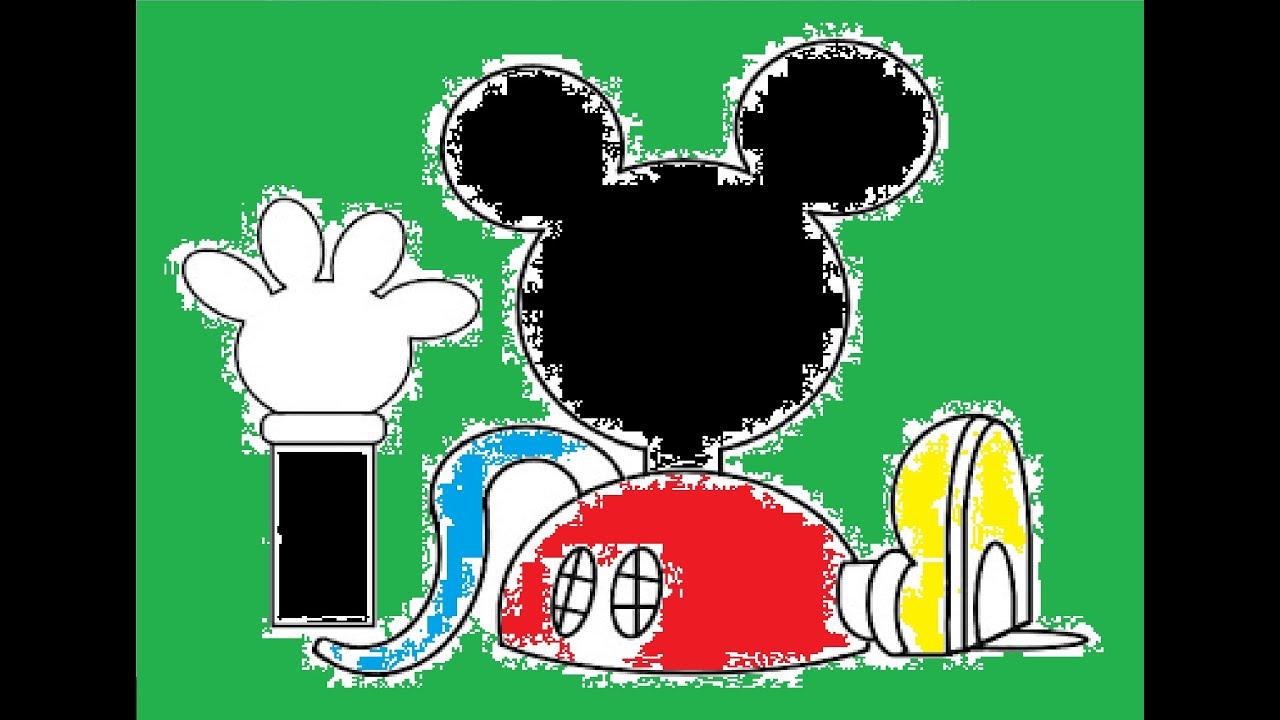 como dibujar a mickey mouse la casa de mickey mouse  YouTube