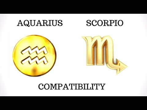 Aquarius And Scorpio Compatibility