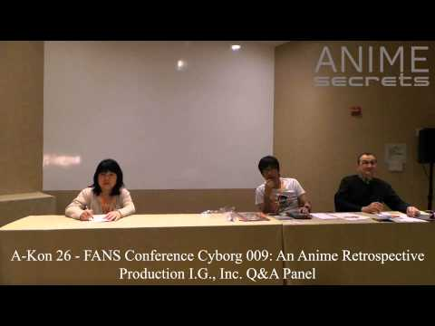 A Kon 26 (2015) - Production I.G. Q&A Panel