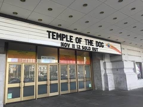 TEMPLE OF THE DOG  *COMPLETE CONCERT*  FRONT ROW! - 11.11.16 - SAN FRAN, CA