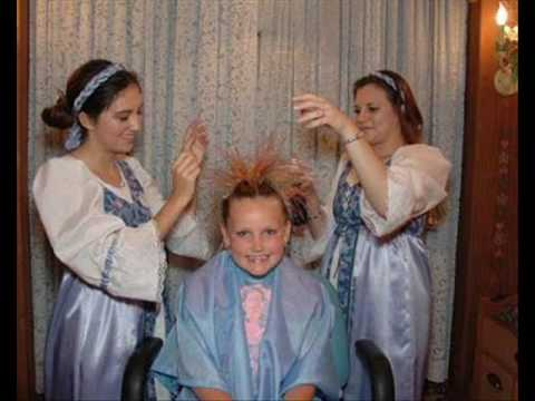 Kaitlyn At The Bibbidi Bobbidi Boutique Disneyland 2009 Youtube