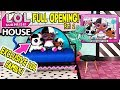 LOL Surprise House Unboxed! Ultra Rare LOL Dolls!   L.O.L Surprise Dollhouse Ep. 2   LOL Doll Videos