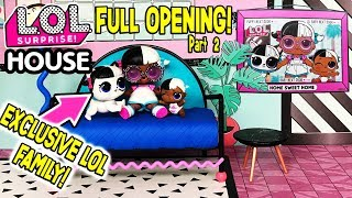 LOL Surprise House Unboxed! Ultra Rare LOL Dolls! | L.O.L Surprise Dollhouse Ep. 2 | LOL Doll Videos
